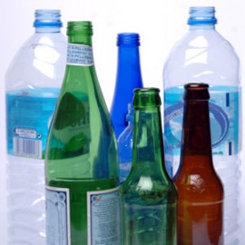 glass-and-plastic-bottles