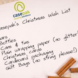 Casepak Xmas wish list