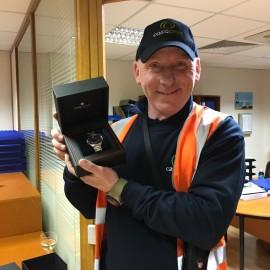 Wayne Macken - Celebrating a quarter of a century of service